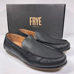 Frye HARRIS VENETIAN Black Loafers Slip Ons Shoes